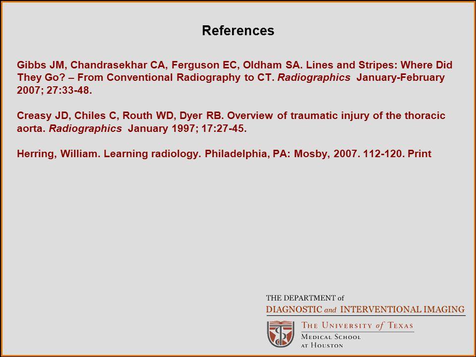 Gibbs JM, Chandrasekhar CA, Ferguson EC, Oldham SA.