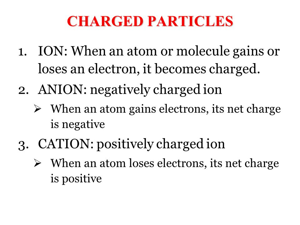 Summarize the following terms Ion Anion Cation Anode Cathode Current Circuit