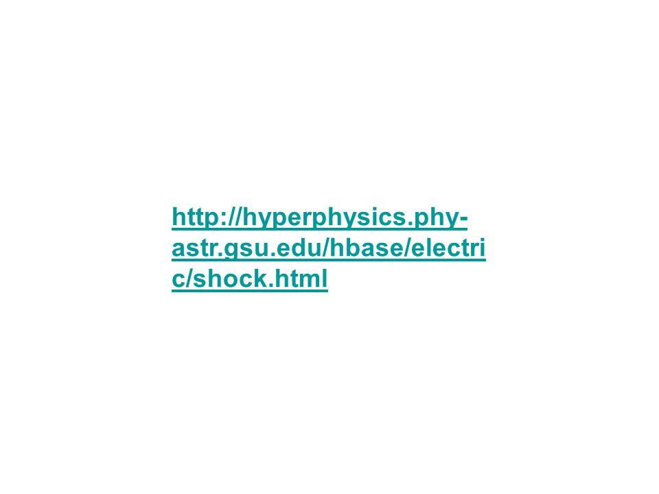 http://hyperphysics.phy- astr.gsu.edu/hbase/electri c/shock.html