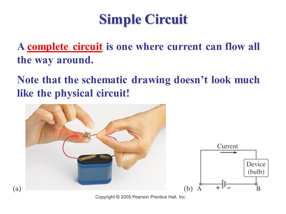 Electric Circuit Components & Devices