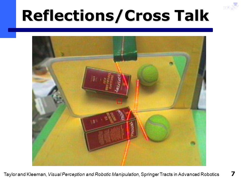 Taylor and Kleeman, Visual Perception and Robotic Manipulation, Springer Tracts in Advanced Robotics 7 Reflections/Cross Talk