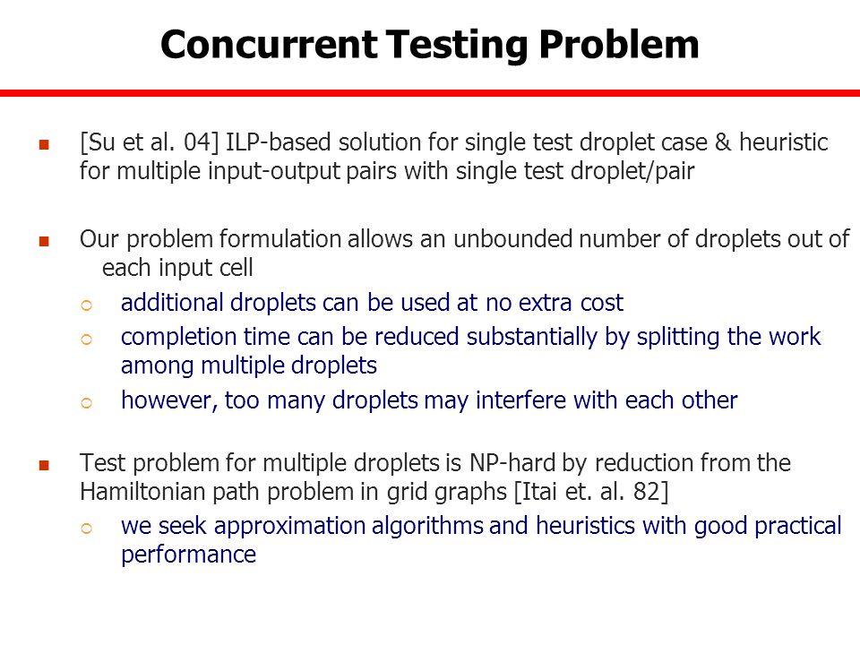Concurrent Testing Problem [Su et al.