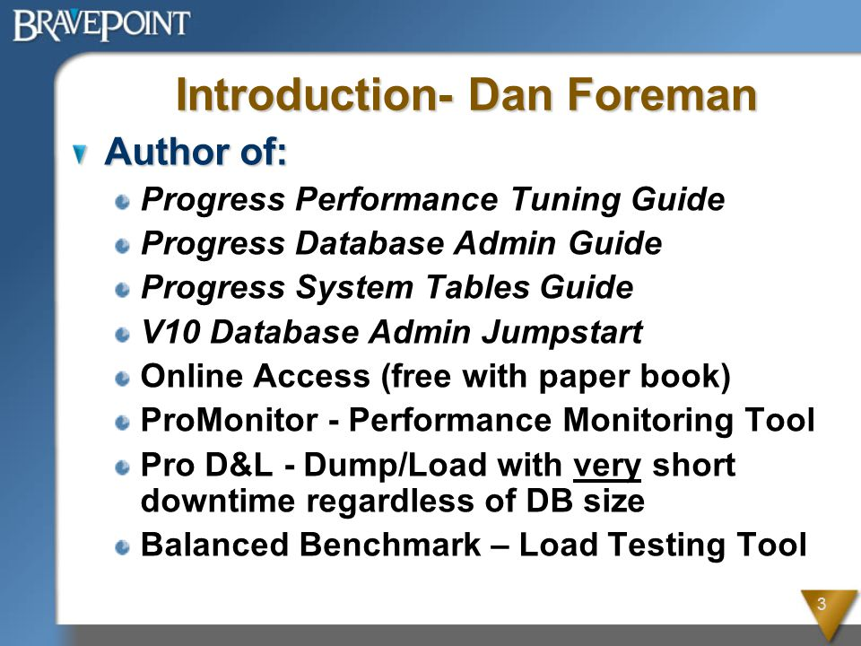 14 Best Practices – DB Safety Use the -bithold parameter as an extra safeguard; Set to 50% of available BI Disk Space Crash recovery causes the BI file to grow Crash recovery causes the AI files to grow AI extents cannot be emptied during crash recovery bigrow size < BI Size Alert Threshold < bigrow size < BI Size Alert Threshold < (-bithold value = (available BI disk space / 2)) (-bithold value = (available BI disk space / 2))