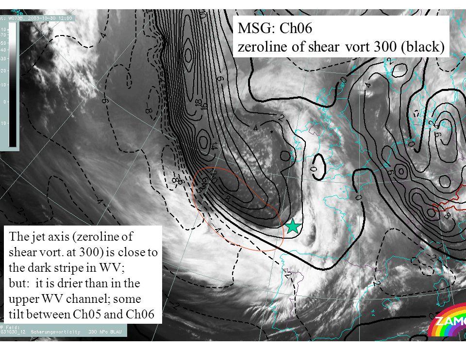 37 MSG: Ch06 zeroline of shear vort 300 (black) The jet axis (zeroline of shear vort.