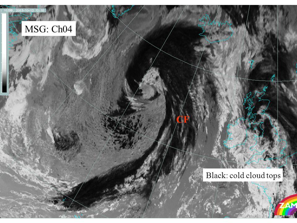 43 MSG: Ch04 Black: cold cloud tops CF