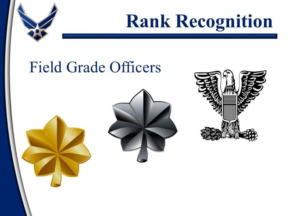 Field Grade Officers Rank Recognition
