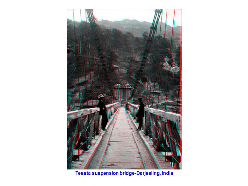 Teesta suspension bridge-Darjeeling, India
