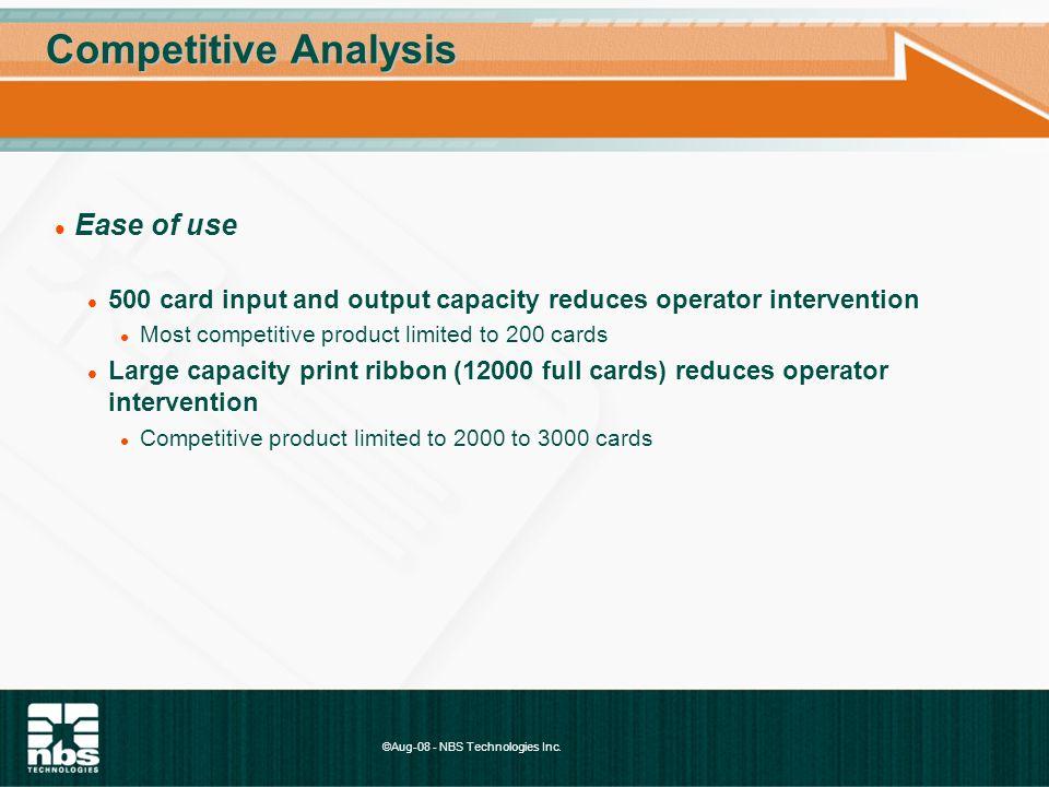 ©Aug-08 - NBS Technologies Inc.