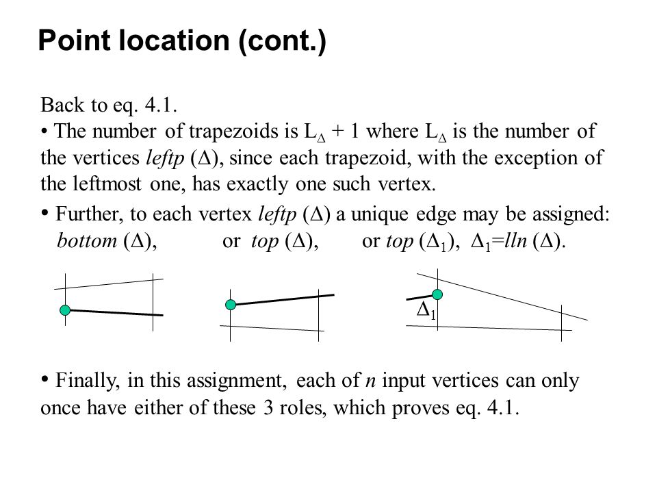 Finally, in this assignment, each of n input vertices can only once have either of these 3 roles, which proves eq.