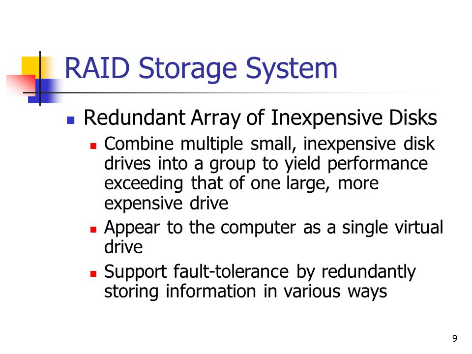 30 Add Disks Larger disk ≠better performance Bottleneck is disk bandwidth Add disks for A dedicated disk for the log Switch RAID5 to RAID10 for update-intensive apps Move secondary indexes to another disk for write- intensive apps Partition read-intensive tables across many disks Consider intelligent disk systems Automatic replication and load balancing
