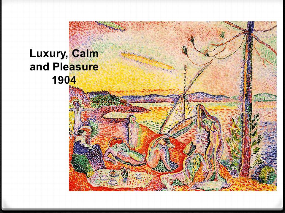 Luxury, Calm and Pleasure 1904