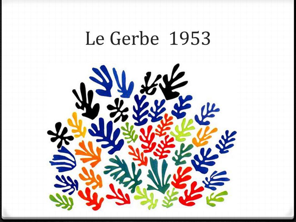 Le Gerbe 1953