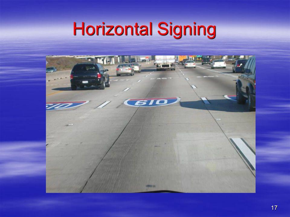 17 Horizontal Signing