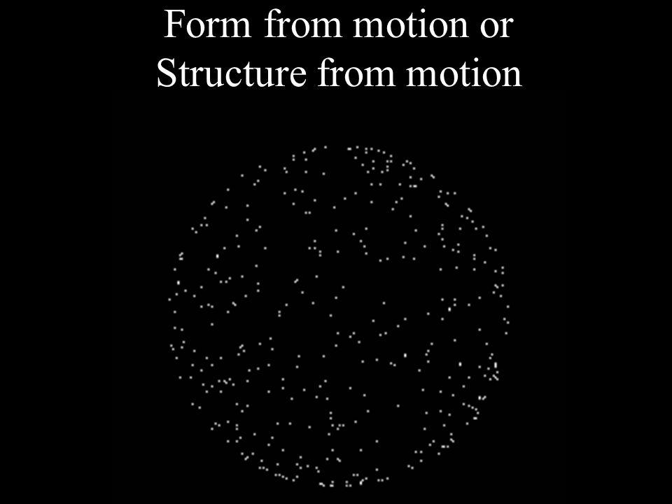 Transformational apparent motion