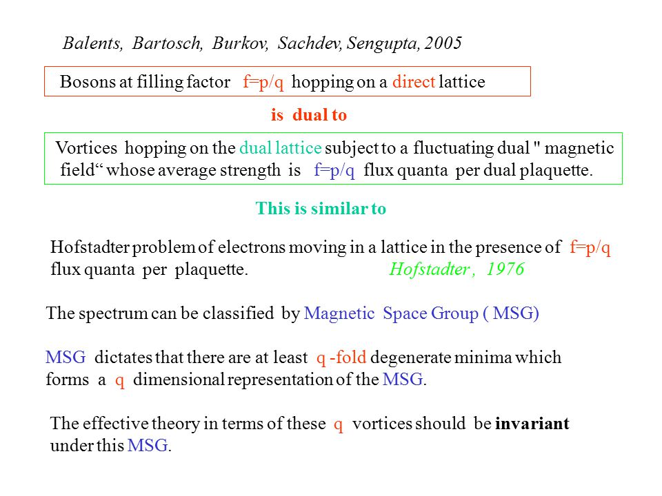 MSG dictates that there are at least q -fold degenerate minima which forms a q dimensional representation of the MSG.