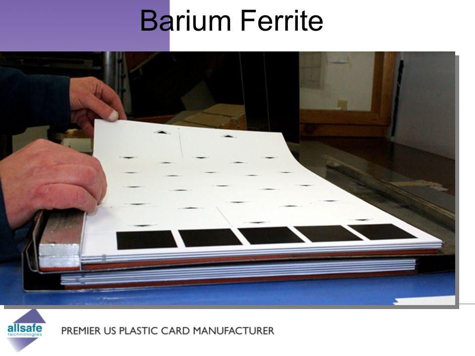 Barium Ferrite Visit us online: www.allsafe.com