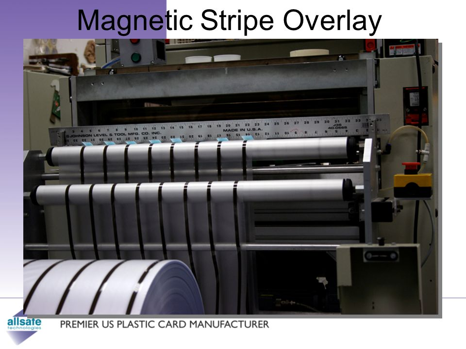 Magnetic Stripe Overlay Customer-focused.