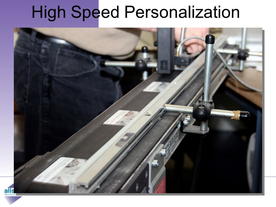 High Speed Personalization From conception to reality…