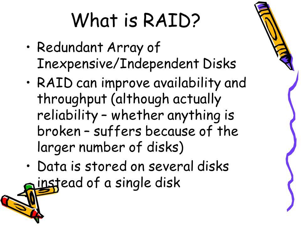 What is RAID.