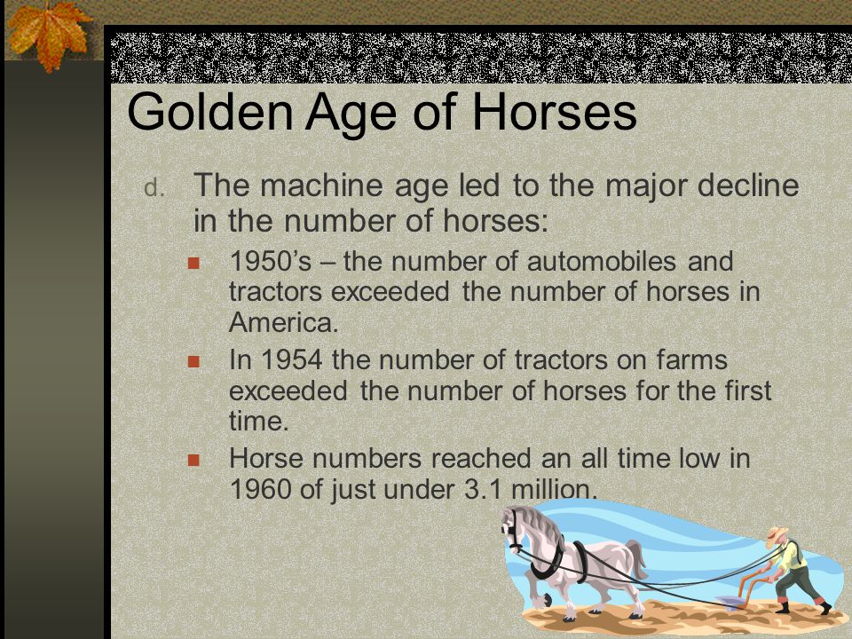 Golden Age of Horses d.