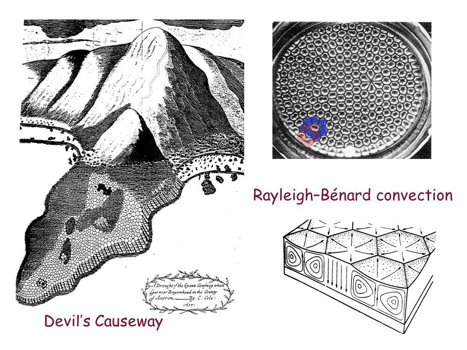 Devil's Causeway Rayleigh–Bénard convection