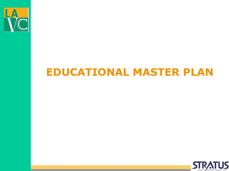 EDUCATIONAL MASTER PLAN