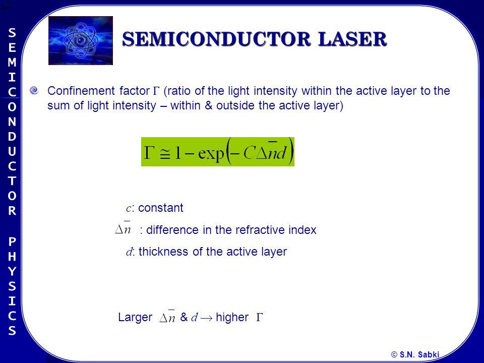 © S.N.Sabki Figure 9.32. Operation of a p-i-n photodiode.