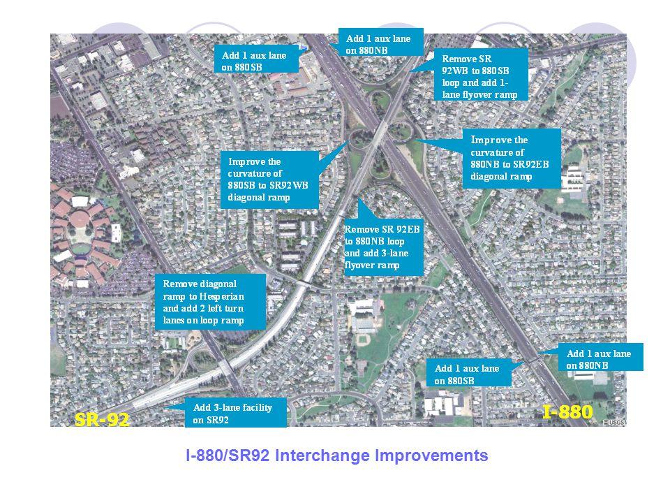 I-880/SR92 Interchange Improvements