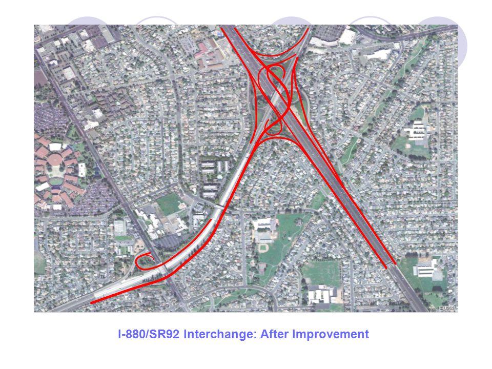 I-880/SR92 Interchange: After Improvement