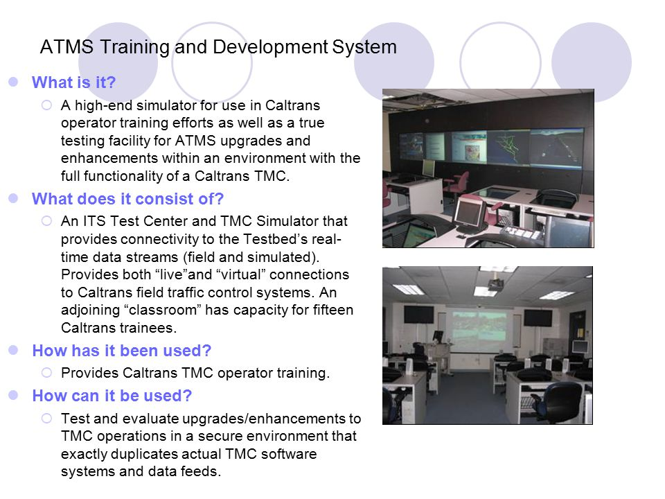 ATMS Training and Development System What is it.