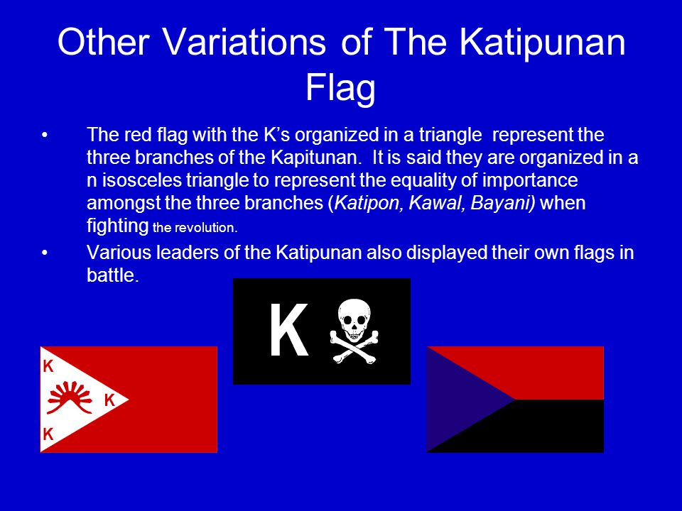 The Flag Today Because of the controversy of the shade of blue displayed on the Flag of the Philippines, the 1998 centennial of the proclamation of Philippine independence, the Flag and Heraldic Code of the Philippines (RA 8491) was passed, changing the shade of blue to royal blue.