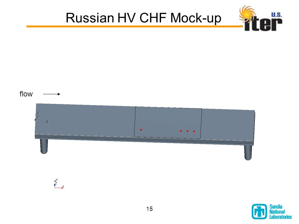 15 Russian HV CHF Mock-up flow