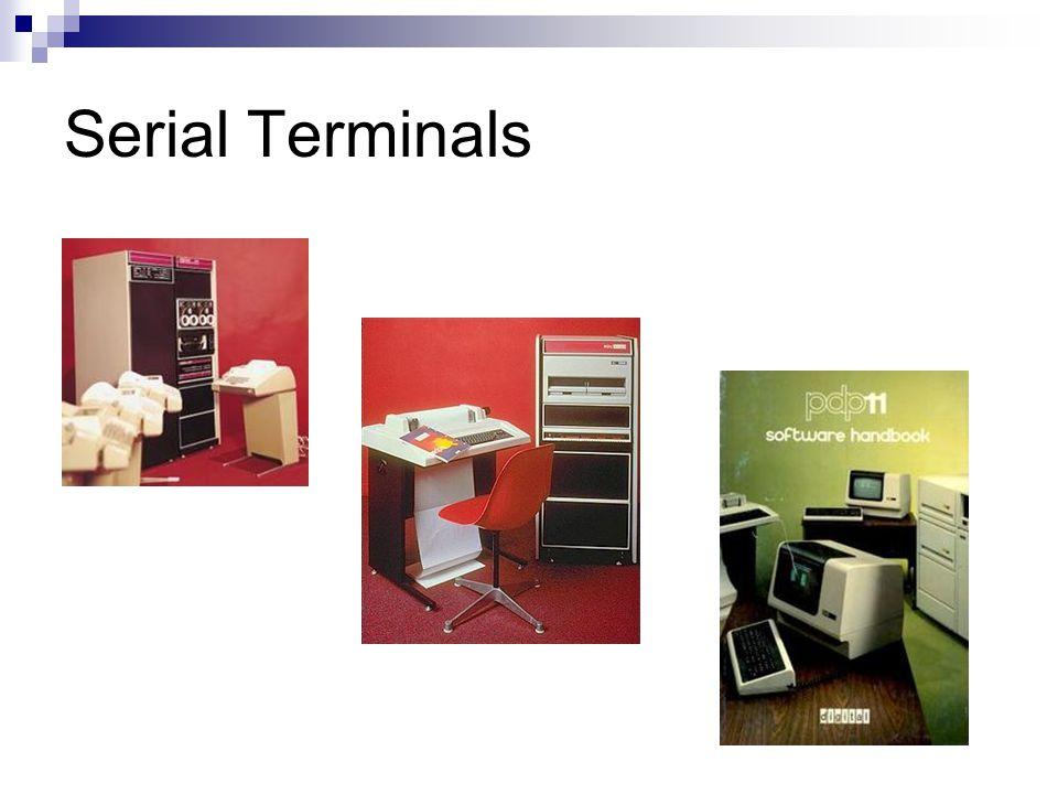 Serial Terminals