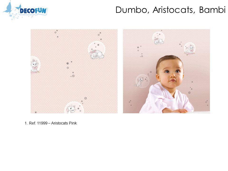 Dumbo, Aristocats, Bambi 1. Ref. 11999 – Aristocats Pink