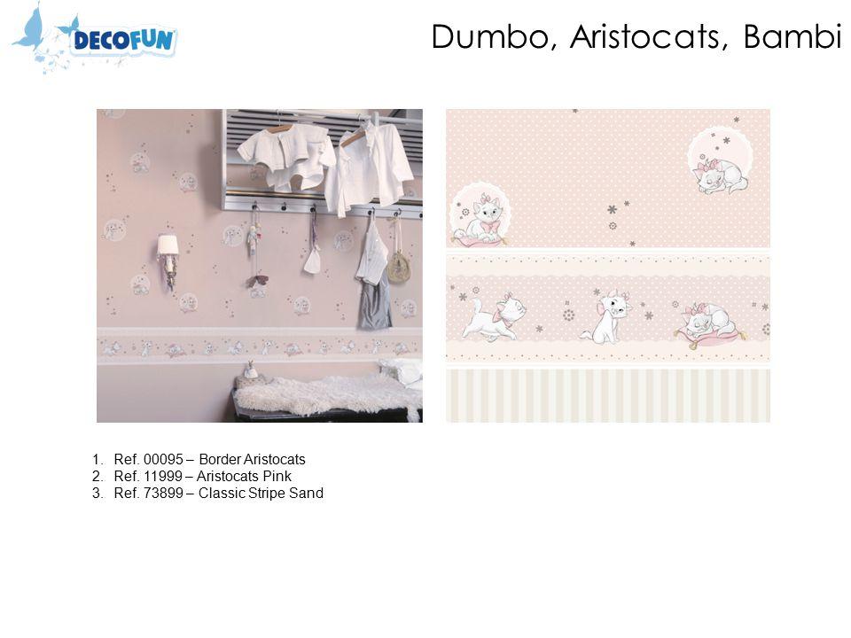 Dumbo, Aristocats, Bambi 1.Ref. 00095 – Border Aristocats 2.Ref.