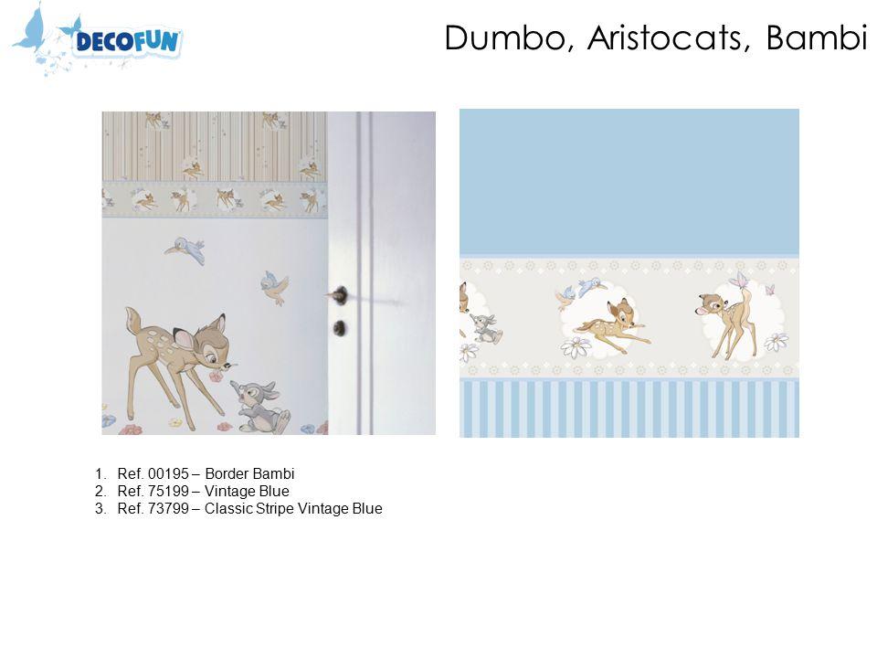 Dumbo, Aristocats, Bambi 1.Ref. 00195 – Border Bambi 2.Ref.