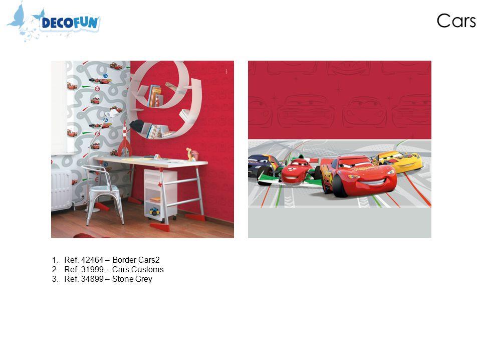 Cars 1.Ref. 42464 – Border Cars2 2.Ref. 31999 – Cars Customs 3.Ref. 34899 – Stone Grey