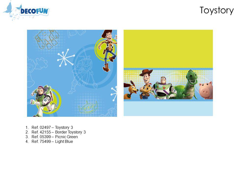 Toystory 1.Ref. 02497 – Toystory 3 2.Ref. 42155 – Border Toystory 3 3.Ref.