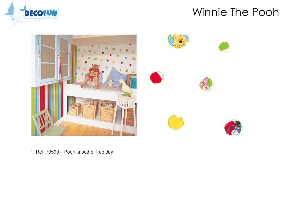 Winnie The Pooh 1.Ref.70399 – Pooh, 123 Bubble Gum 2.Ref.