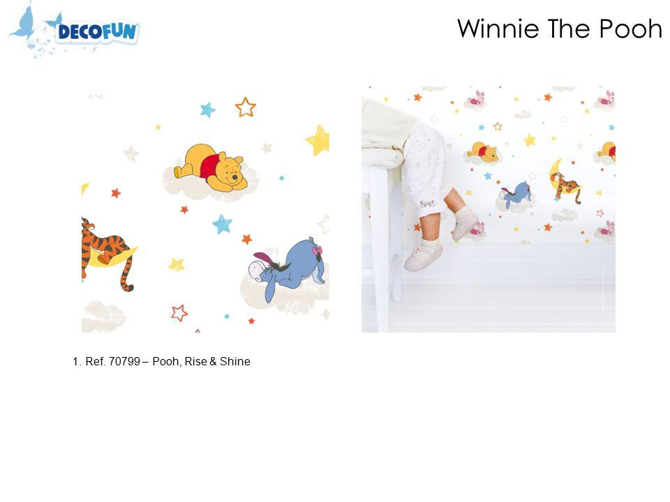 Winnie The Pooh 1.Ref.70699 – Pooh, 123 Sand 2.Ref.