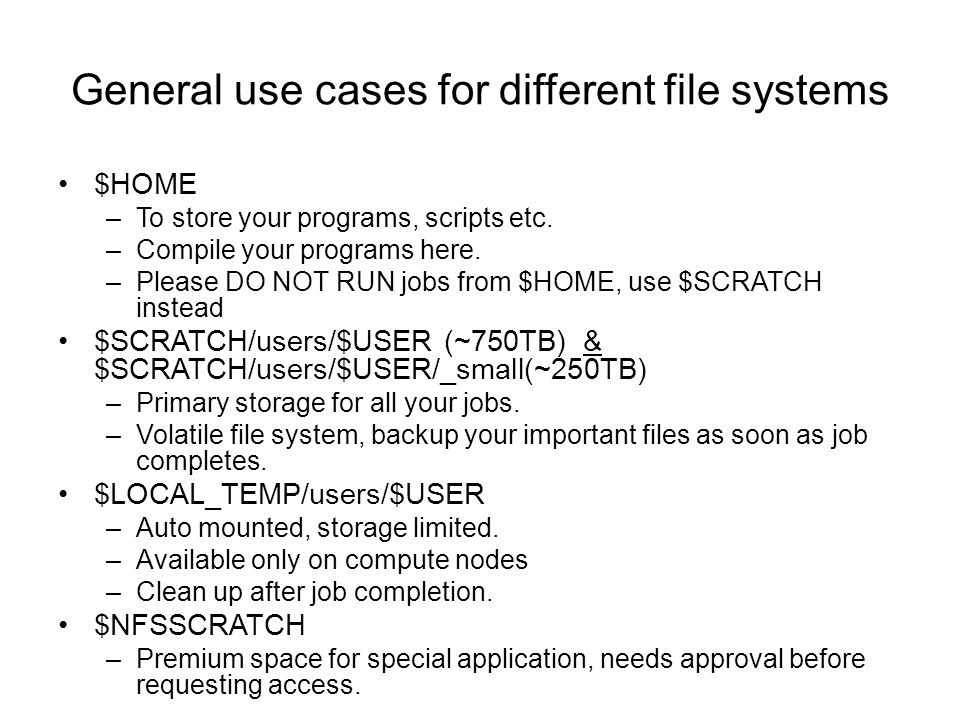 Lustre commands to avoid tar and rm is very inefficient on large number(in millions) of files.