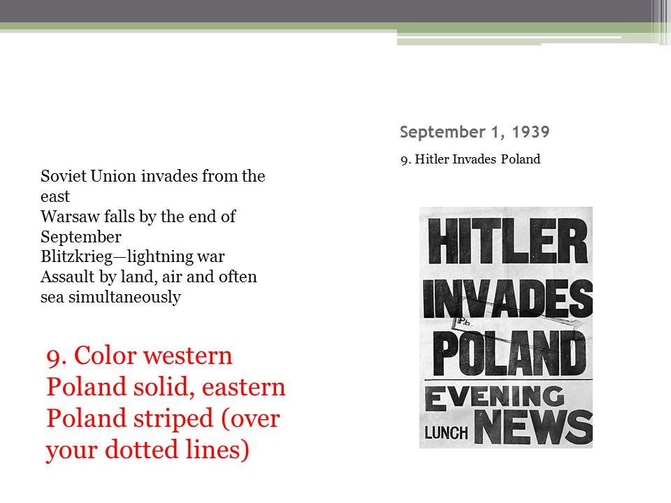 September 1, 1939 9.