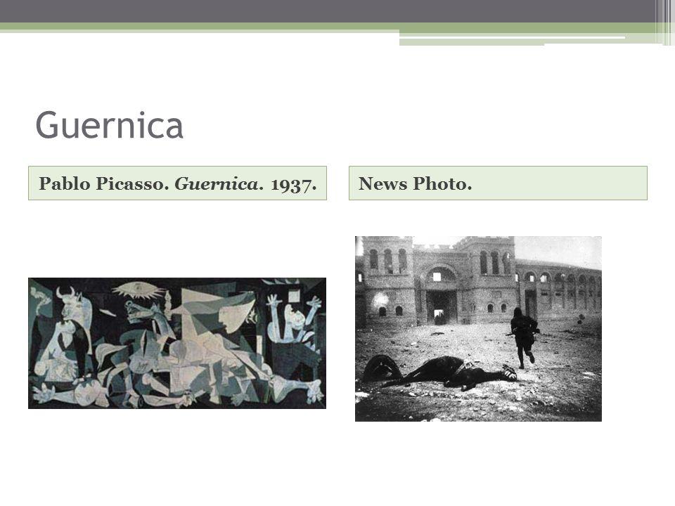 Guernica Pablo Picasso. Guernica. 1937.News Photo.
