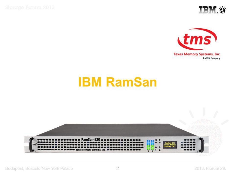 13 IBM RamSan