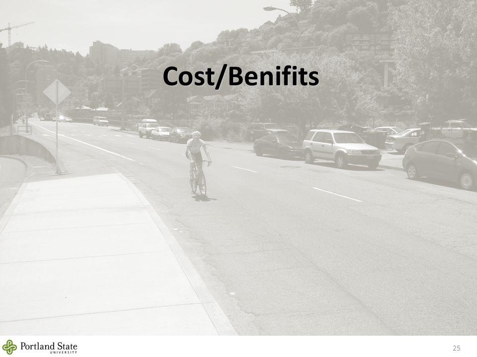 Cost/Benifits 25