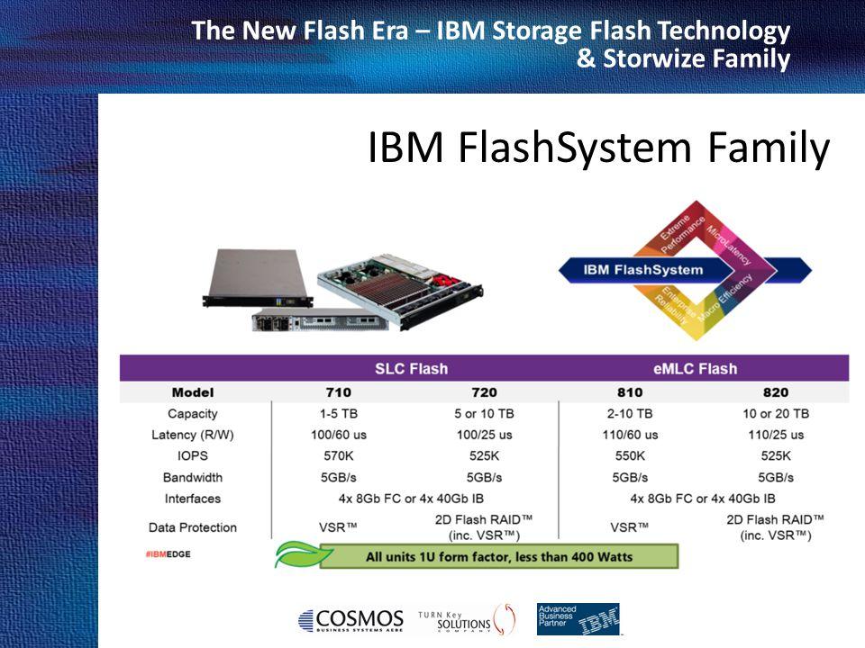 Cosmos Business Systems & IBM Hellas The New Flash Era – IBM Storage Flash Technology & Storwize Family IBM FlashSystem Family