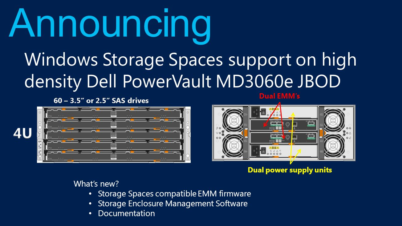 PowerEdge rack servers Excellent performance, functionality and outstanding reliability.