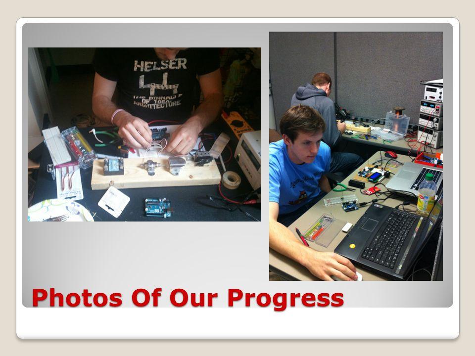 Photos Of Our Progress