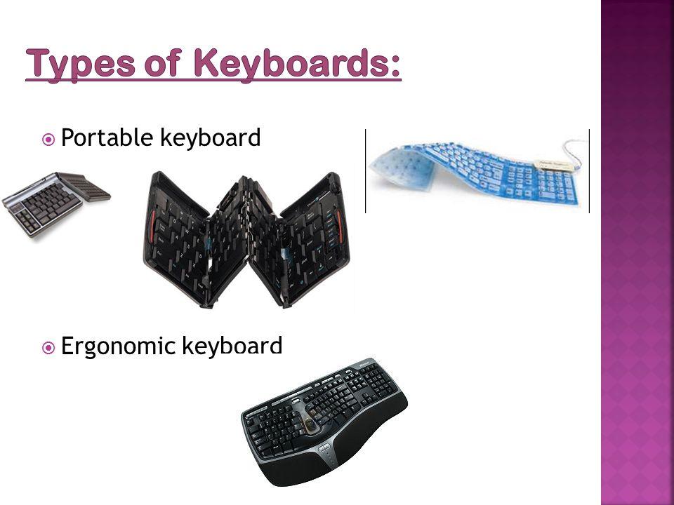  Portable keyboard  Ergonomic keyboard