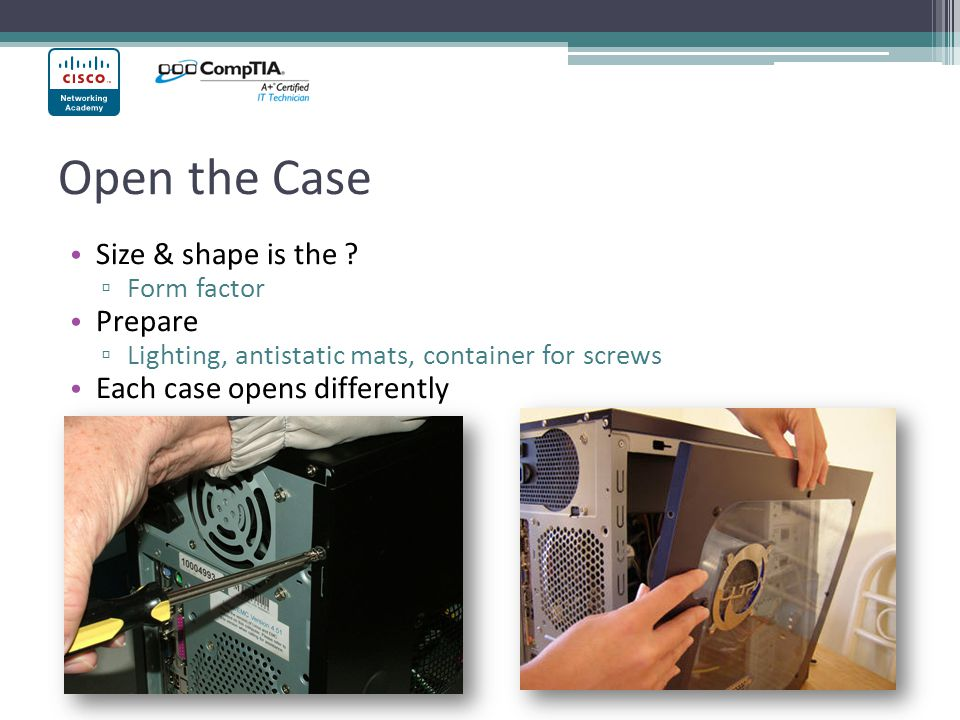 Open the Case Size & shape is the .